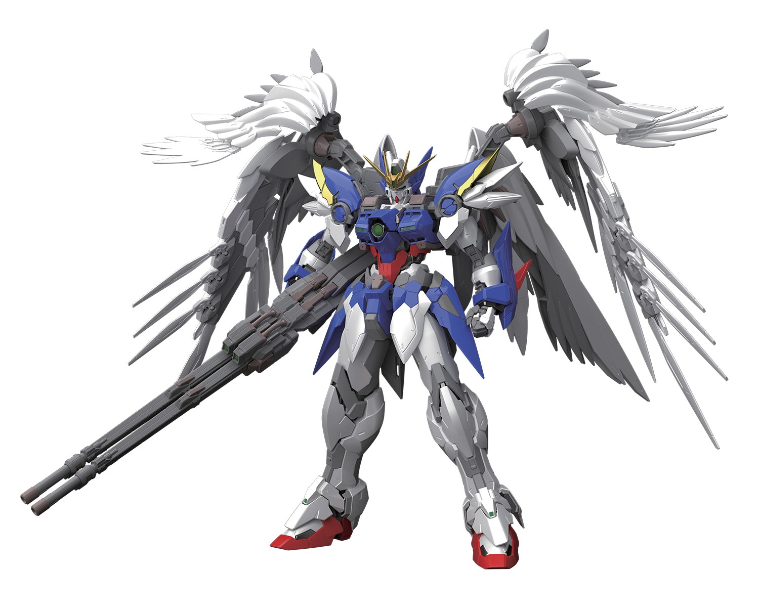 Gundam Wing: Endless Waltz Wing Gundam Zero Hi-Resolution Model Kit [Plated Coating] by Bandai Hobby