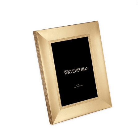 Waterford - Lismore Gold Diamond Photo Picture Frame 5 x 7