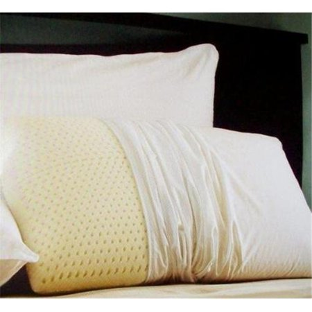 Restful Nights Natural Latex Foam Pillow Set Of 2