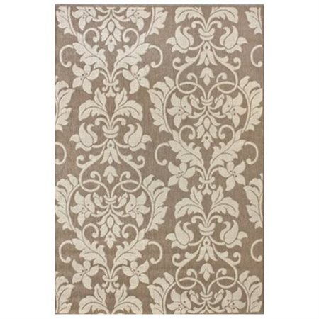 nuLOOM Villa Ruskea Brown Outdoor Area Rug