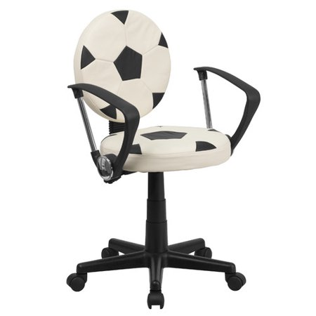Remarkable Zoomie Kids Gilder Soccer Mid Back Kids Desk Chair Ocoug Best Dining Table And Chair Ideas Images Ocougorg