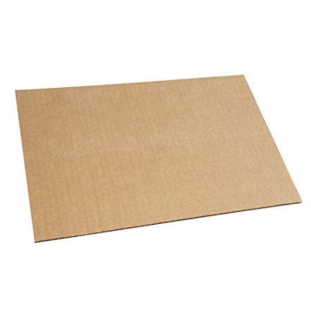 (100 LP Corrugated Insert Pads Only by TheBoxery, 100 Corrugated Protective Sheets Included 1/8'' thickness By The Boxery)