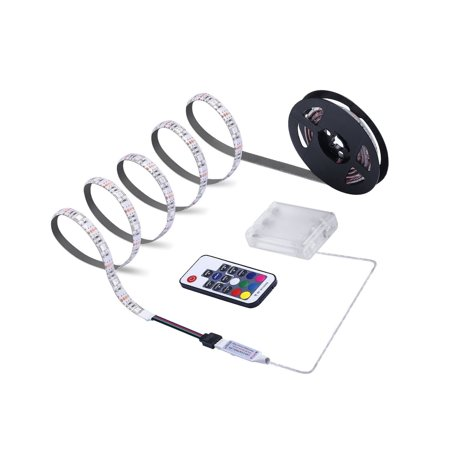 Hikenri Battery Powered Led Strip Lights 17 Keys Remote Controlled