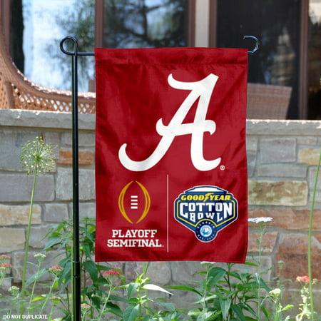 Alabama Crimson Tide 2015 College Football Playoff 13  X 18  College Garden Flag