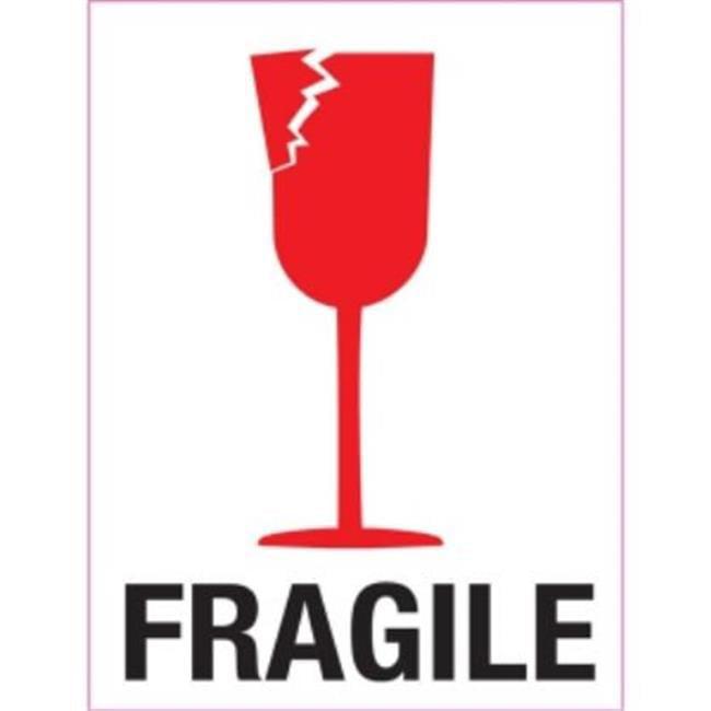 3 in. x 4 in. Fragile - image 1 of 1