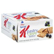 Kellogg's Special K Blueberry Pastry Crisps, 0.88 oz, 9 count