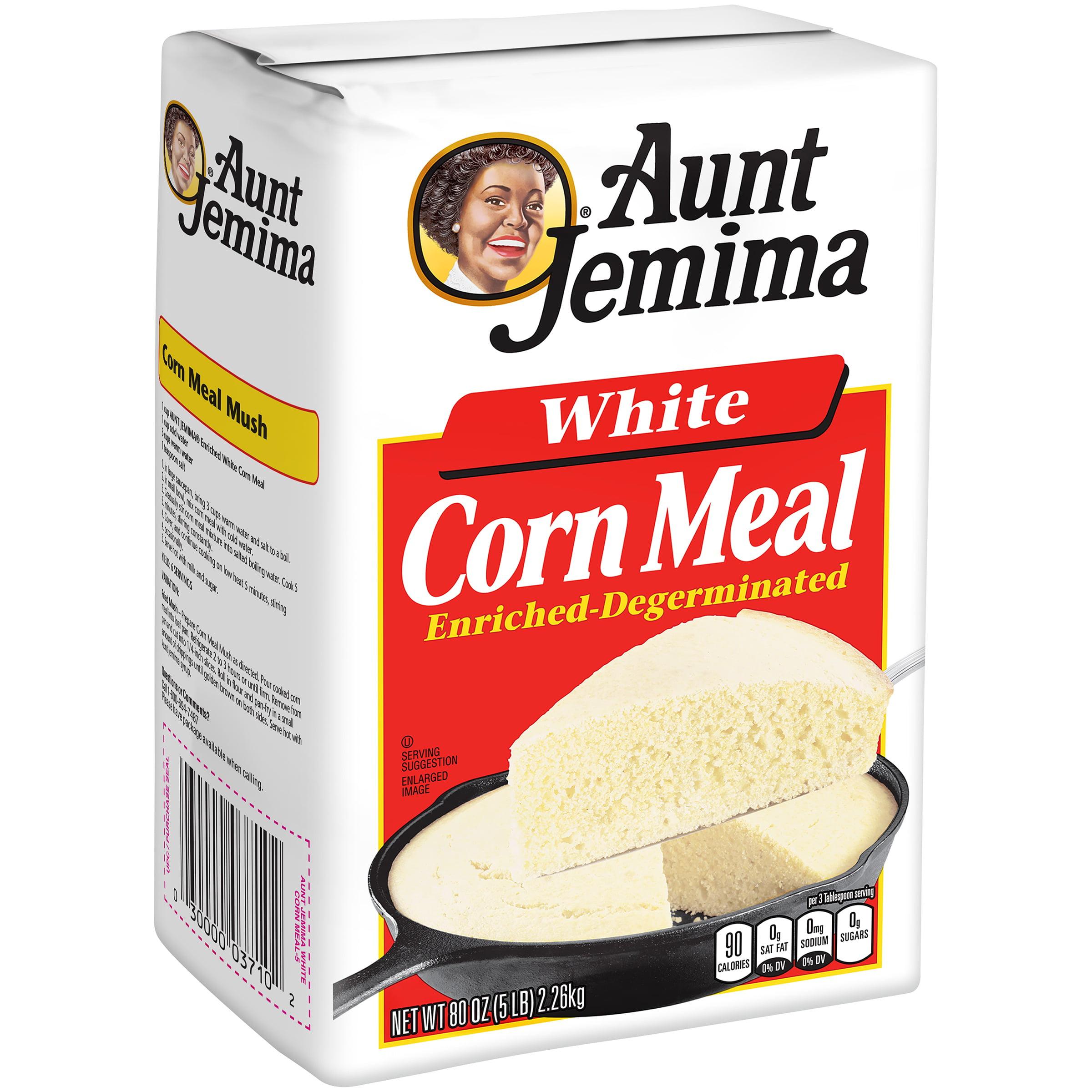 Aunt Jemima Corn Meal White 80 oz. Bag