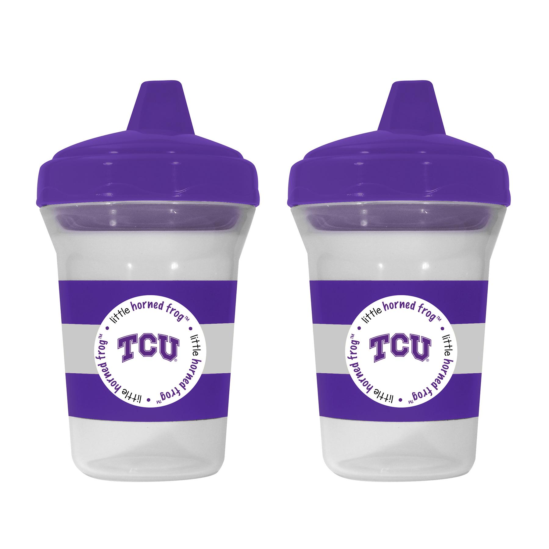NCAA TCU 2-Pack Sippy Cups