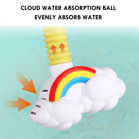 FANNI Baby Bath Toys Electric Elephent Animal Sucker Electric shower Rain Head - image 9 of 10