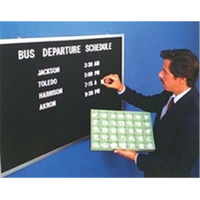 Aarco Products BOFD2430 Open Face Aluminum and Felt Changeable Letter Board