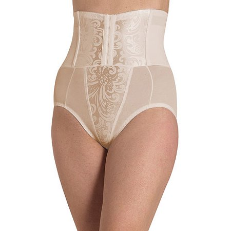 Extra Firm High Waist Shaping Brief (Firm Control Open Bottom Girdle)