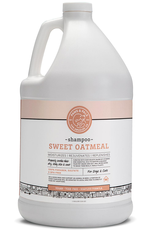 Paws Pals Dog Shampoo Conditioner For Pets 100 Natural Organic Rosemary Aloe Vera Oatmeal Made In Usa Walmart Com Walmart Com
