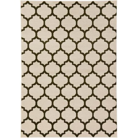 Rugs America 25817 Beverly Blue Rectangle Geometric Rug, 2 ft. 3 in. x 8 ft. - image 1 de 1