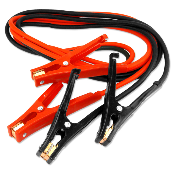 12 Foot Booster Jumper Battery Cables 6 Gauge Car Truck Auto Emergency Boost