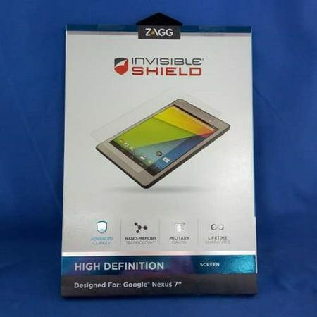 zagg hdgoonex7s invisibleshield for google nexus 7 2013 - high definition -screen coverage (Nexus 7 Screen Replacement 2013)