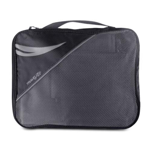 Travelon Luggage 2-Sided Packing Cube, Black
