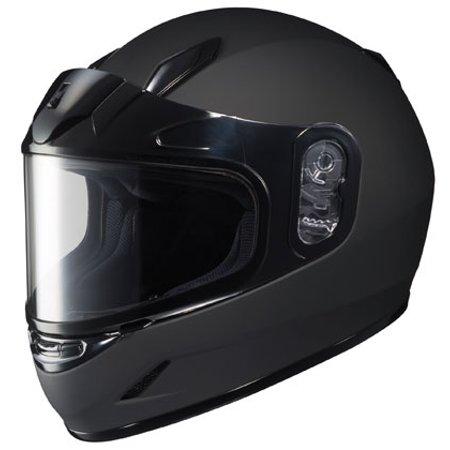 HJC CL-Y Youth Solid Snowmobile Helmet Matte Black Youth L  HJC223-614