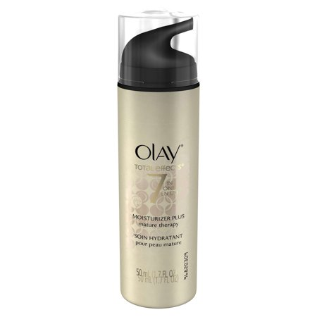Olay Total Effects 7-in-One Moisturizer Mature Therapy Treatment, 50 mL