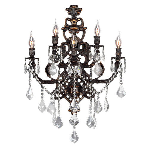 Worldwide Lighting Versailles 5 Light Wall Sconce