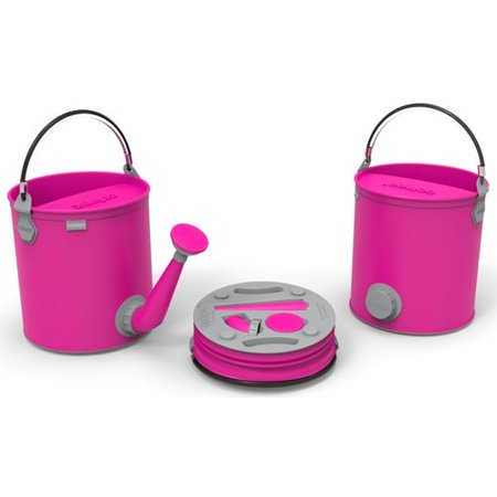 ColourWave Collapsible 7 liter 2 in 1 Watering Can / Bucket