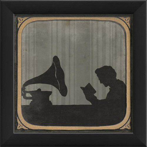 The Artwork Factory The Phonograph Framed Graphic Art