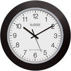 La Crosse Technology 14 Quot Atomic Analog Wall Clock Black
