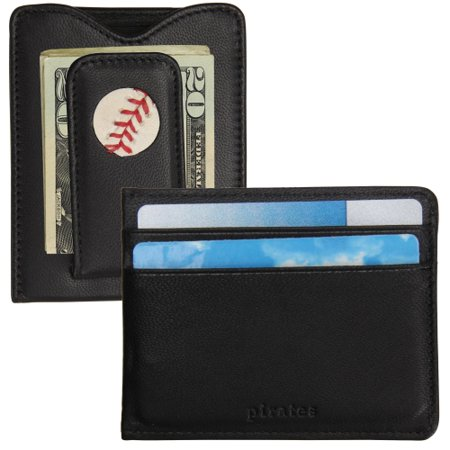 Pittsburgh Pirates Tokens & Icons Game-Used Baseball Wallet - No Size (Tokens And Icons Wallet)