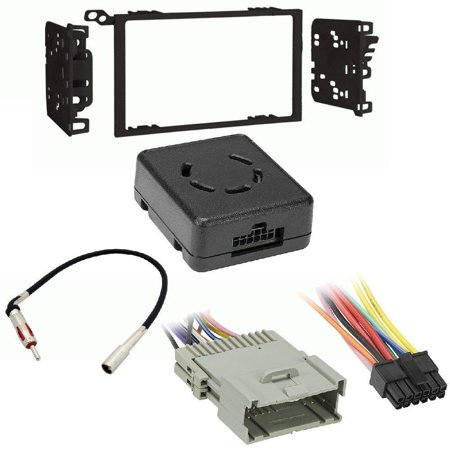 Chime Module Interface - Metra 95-2009 Double DIN Installation Multi-Kit for 95-08 GM/Honda/Isuzu/Suzuki Axxess Metra LC-GMRC-01 GM LAN Data Bus Interface with Chime Retention