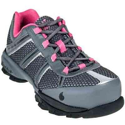 Women Steel Toe Safety Shoes - Nautilus Women's N1393 Steel Safety Toe Athletic Shoe
