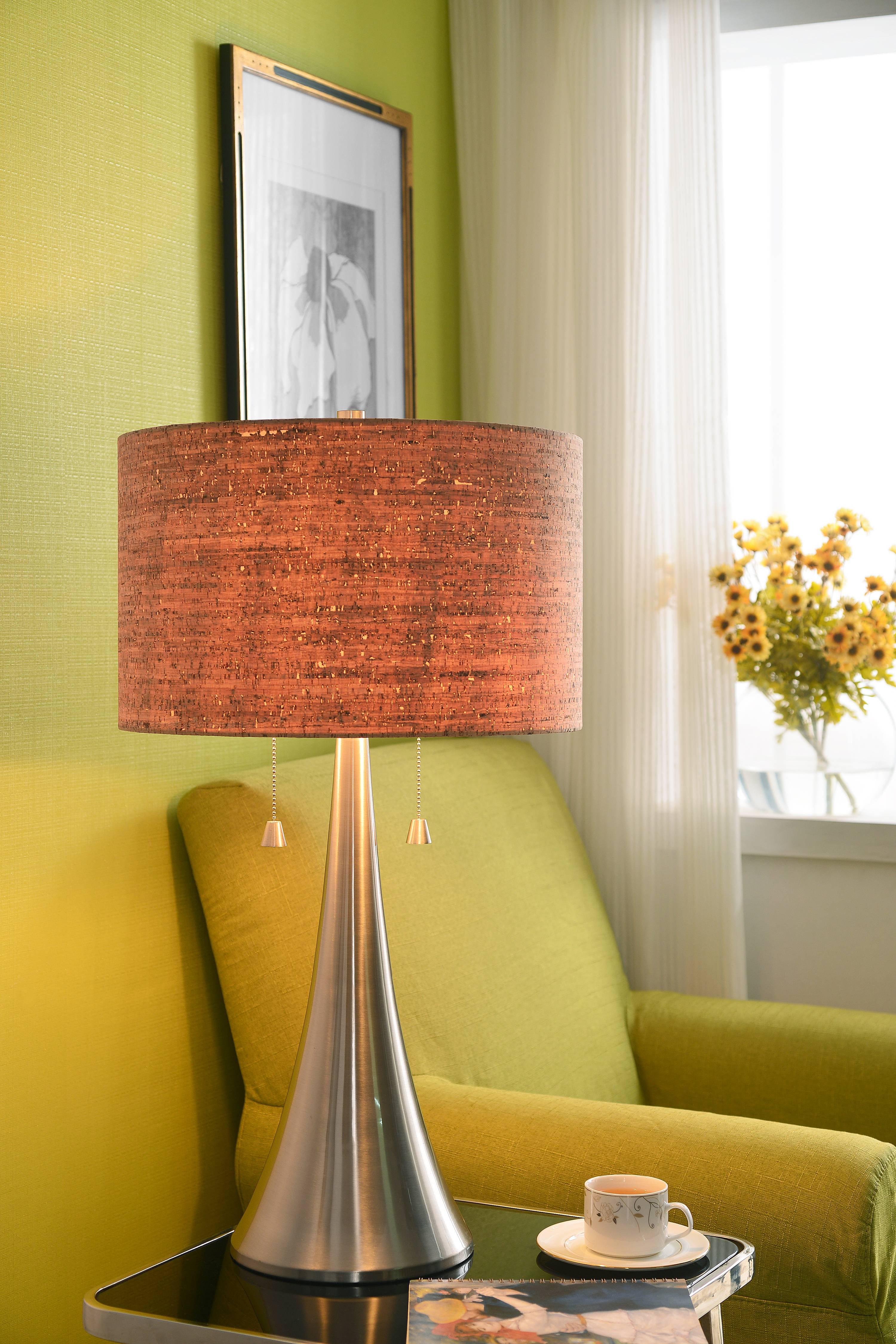 Kenroy Home 32092 Bulletin 2 Light Table Lamp