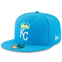 4776bef8e85954 Product Image Kansas City Royals New Era Youth 2017 Players Weekend 59FIFTY  Fitted Hat - Blue