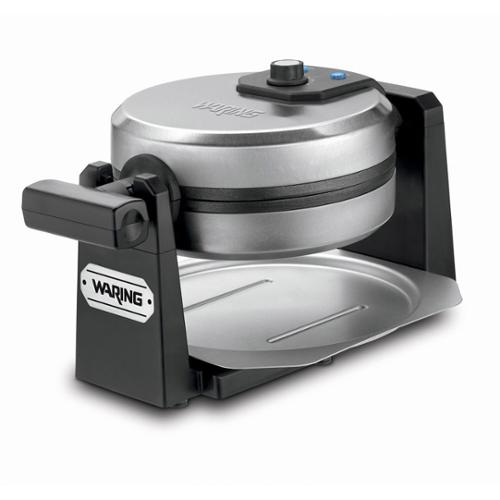 Waring Pro Rotating Belgian Waffle Maker (Stainless Steel and Black)