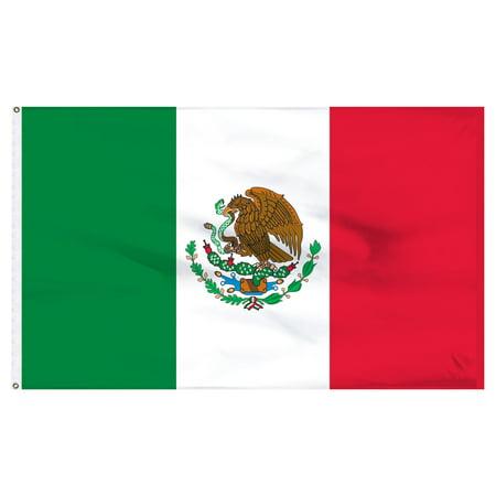 Mexico 4ft x 6ft Nylon Flag - Outdoor