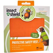 Insect Shield Protective Safety Vest Medium, Orange