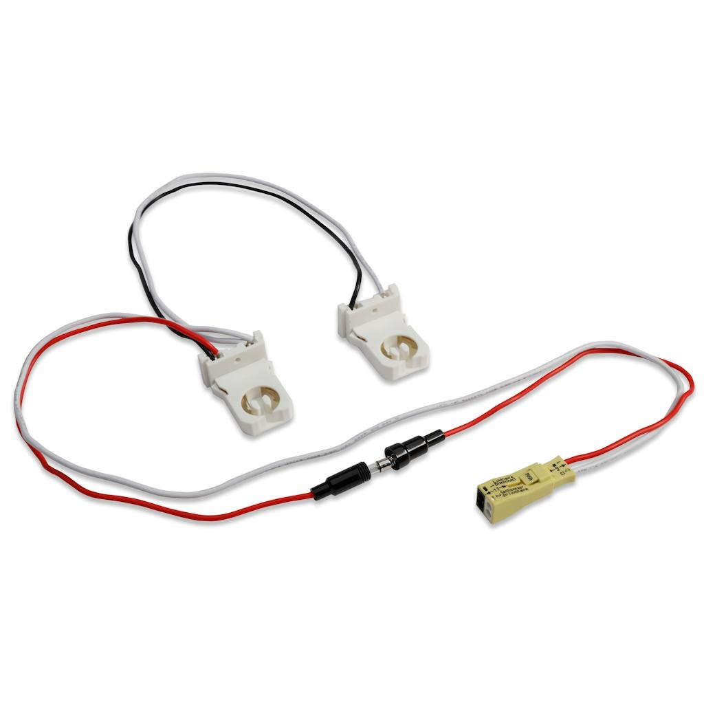 Quick Disconnect Wiring Diagrams Data Base Wire Harness Ge 32075 2 Lamp For Led Tubes Includes Pre Rh Walmart Com On Plumbing