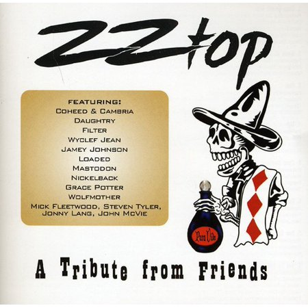 ZZ Top: A Tribute From Friends (CD)