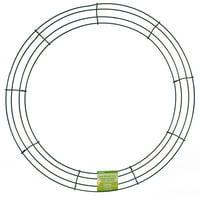 """FloraCraft Design It 18"""" Wire Wreath"""
