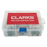 Clarks Brake Pads Disc Tray Resn Avid Vx813/Vx839/Vx841 Box of 20Pr