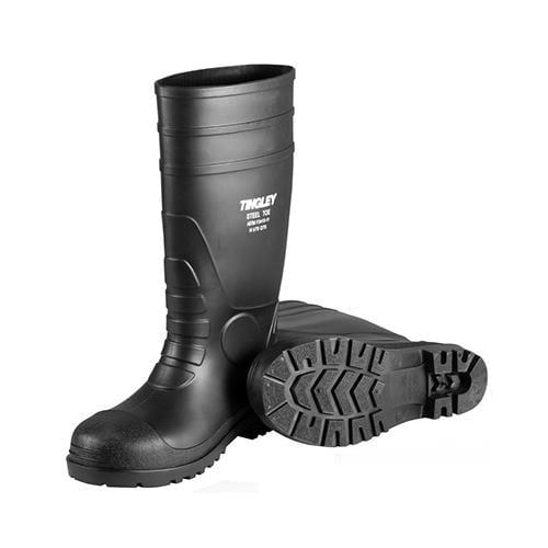 Tingley 31251.05 Steel-Toe Boots, Black