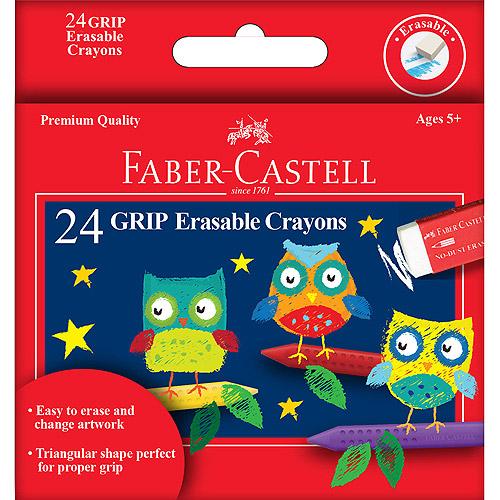 GRIP Erasable Crayons 24/Pkg