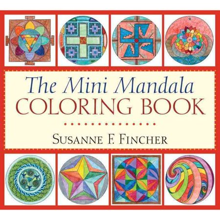 the mini mandala adult coloring book - Walmart Coloring Books