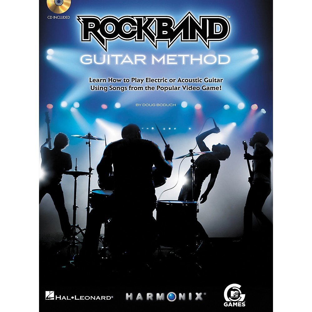 Hal Leonard Rock Band Guitar Method - Book/CD