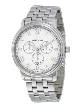 MontBlanc Tradition Chronograph White Dial Men's Watch 114340