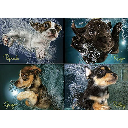 Willow Creek Press Underwater Puppies Jigsaw Puzzle (1000-Piece) - image 1 of 1