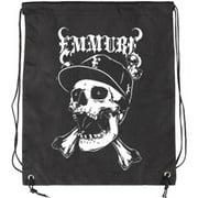 Emmure Street Skull Drawstring Backpack Black