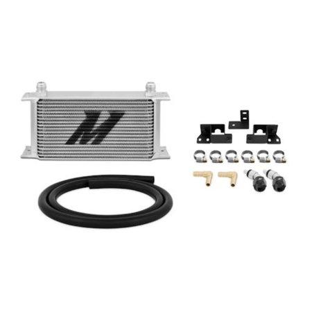 Jeep Transmission Sensor - Mishimoto MMTC-WRA-07 Silver Transmission Cooler Kit for Jeep Wrangler JK