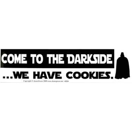RBI Fortune Telling Toys Come to the Darkside We Have Cookies Bumper