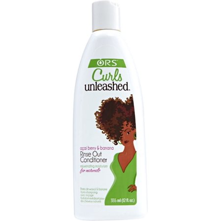 ORS Curls Unleashed Rinse Out Conditioner, Acai Berry & Banana 12