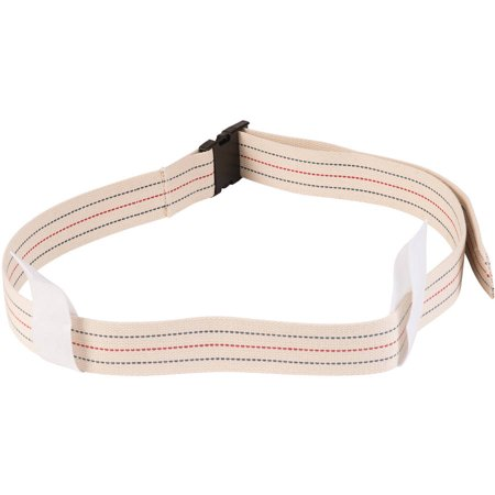 DMI Cotton Physical Therapy Gait Belt Transfer Belt with Handles, Quick Release, 50
