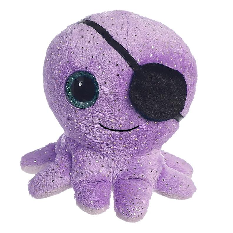 """5"""" Olee - Purple YooHoo - Octopus Aurora Plush Stuffed Animal"""